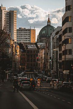 Kathedraal uitzicht Berlijn van Robin Berndt