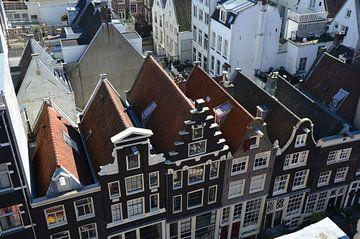 Giebel in Amsterdam sur Corinna Vollertsen