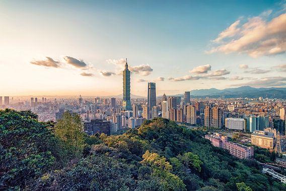 Taipei-avond