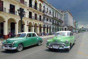 Straat in Havana van