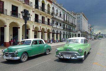 Straat in Havana sur Annelies van der Vliet