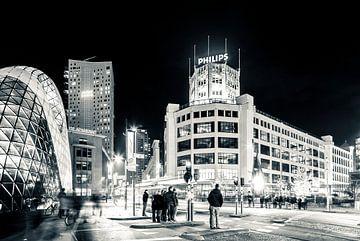 Der Blob, Admirant und Lichttoren von Philips in Eindhoven von Bart van Eijden
