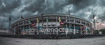 de Kuip (stadion Feyenoord) von Rene Ladenius Digital Art