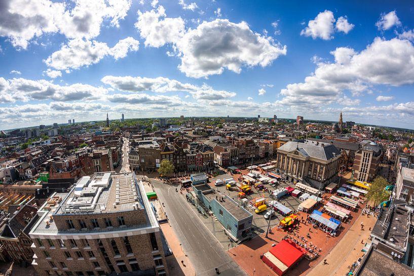 Uitzicht op Groningen van Frenk Volt