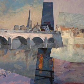 Sankt-Servatius-Brücke Maastricht von Nop Briex