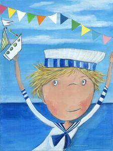 Matroos FYN - Schilderij voor Kinderen