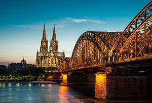 Köln am Abend van davis davis