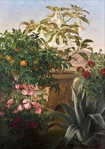 Johan Lauritz Jensen (1800-1856)-Florales Leben noch am Leben