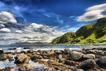 Kust in Noorwegen van