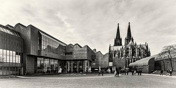 Ludwig-Museum und Kölner Dom von Rob Boon