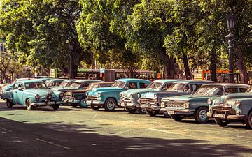 Taxi stand, Havana