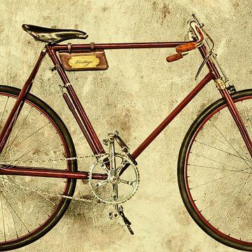 Das alte Rennrad von Martin Bergsma