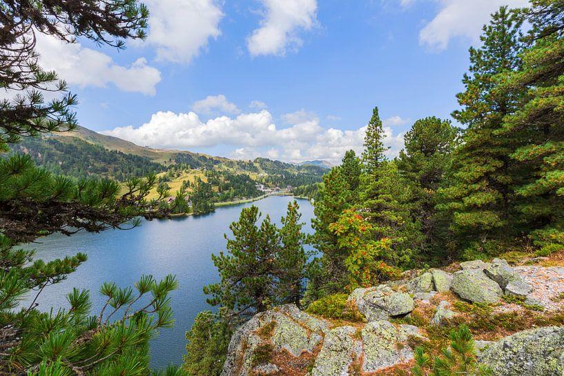 Bergsee im Sommer von Coen Weesjes