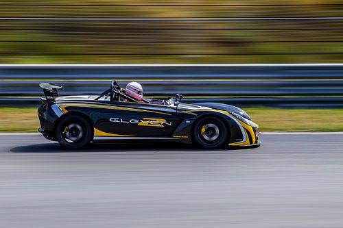 Lotus 2-Eleven op Circuit Park Zandvoort
