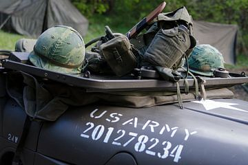 US army jeep von Danny van de Graaf