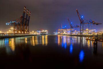 Blue Port von Tom van Dutch
