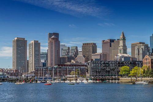 BOSTON Skyline, Noord-Einde En Financieel District  van Melanie Viola