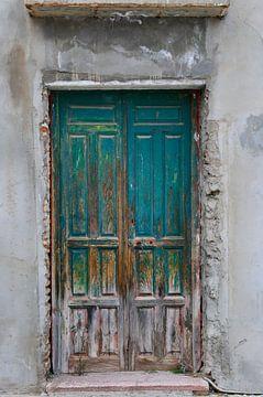 Alte Tür in Spanien von