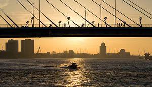 Zonsondergang & de Erasmusbrug