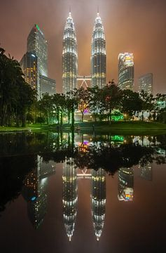 Petronas Twin Towers, Kuala Lumpur van Juriaan Wossink