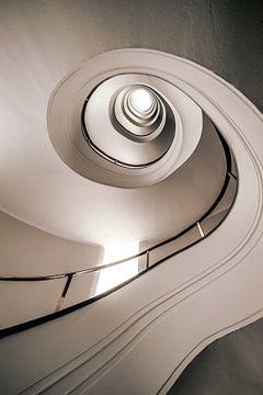 spiraal trap verticaal van Mario Calma