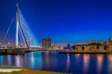 Erasmusbrug met het Noordereiland in Rotterdam RawBird Photo's Wouter Putter van Rawbird Photo's Wouter Putter