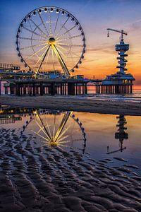 Reuzenrad op de pier van Scheveningen (3) van