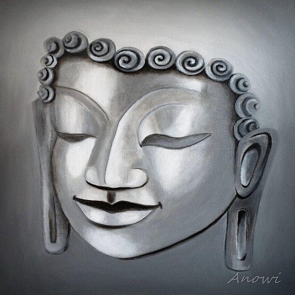 Boeddha van Iwona Sdunek alias ANOWI