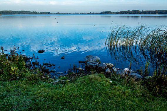 Een meer in het Twiske