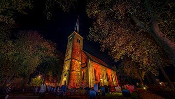 Kirche Weidum betont von piet douma