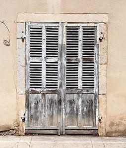 Oude deuren Frankrijk (uitsnede) van