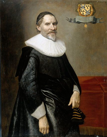 Portret van François van Aerssen, Michiel Jansz. van Mierevelt van Meesterlijcke Meesters