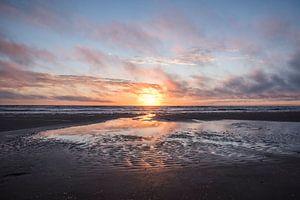 Zonsondergang Wijk aan Zee