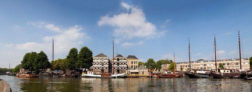 Panorama Binnenhaven Gouda
