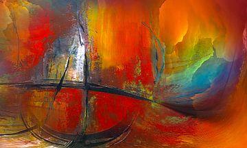 Abstrakte Wege van Katarina Niksic