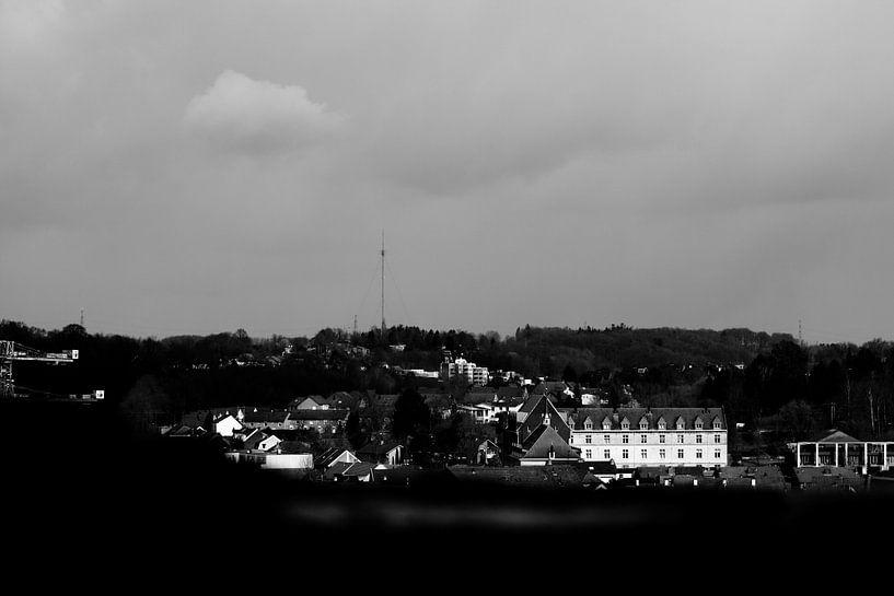 Uitzicht op Valkenburg von Joyce Pals
