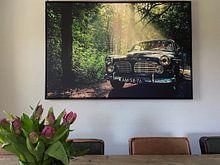 Klantfoto: Volvo Amazon  van Remy De Milde, op canvas