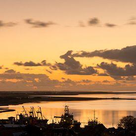 Terschelling bij zonsondergang - 12 van Damien Franscoise