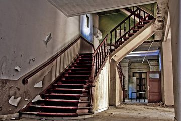 old stairway von Sven van der Kooi