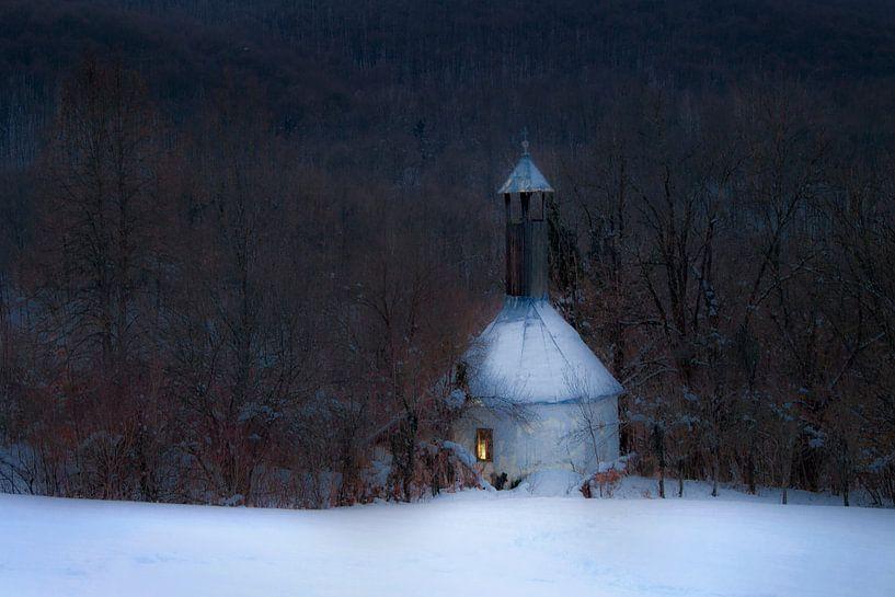 Winterreflectie van René Pronk
