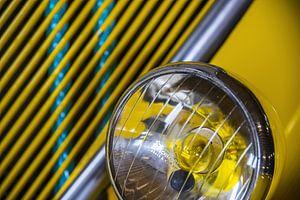 Gele koplamp