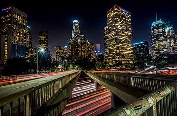 Los Angeles Skyline van Mario Calma