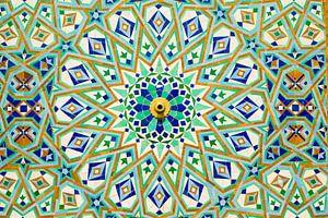Buntes Marokko von