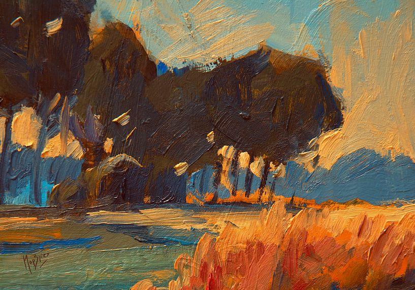 Lever du soleil d'automne à Diessen sur Nop Briex