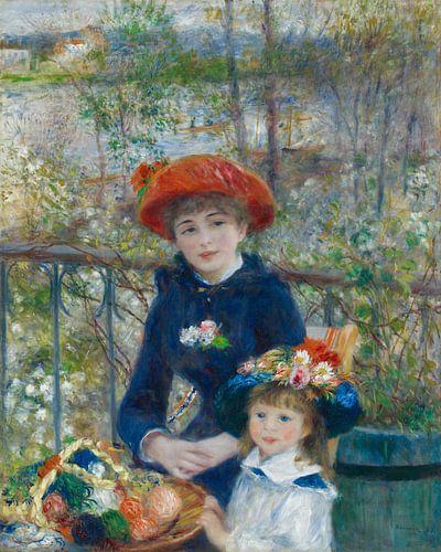 August Renoir. Zusters van 1000 Schilderijen