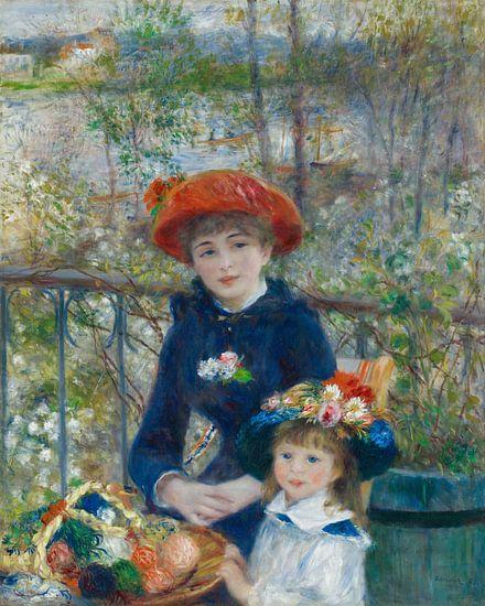 August Renoir. Zusters