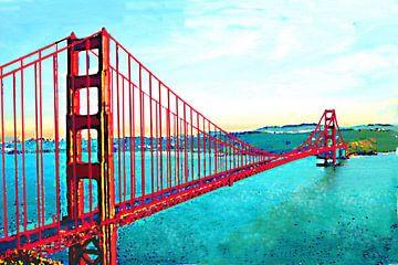 Golden Gate von Andrea Meyer
