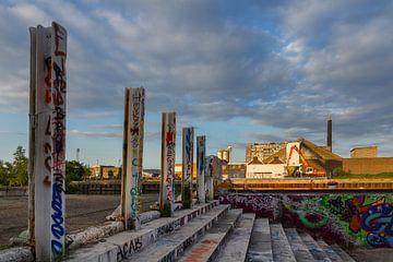 Graffiti perspectief van Stefan Zwijsen