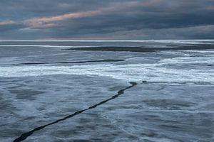 Breken door zee-ijs in Antarctica