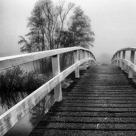 de brug zw-w van Yvonne Blokland
